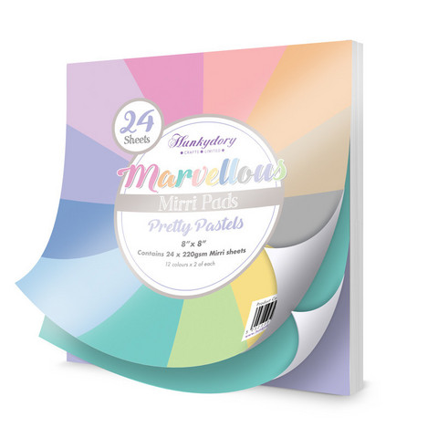 Marvelous Mirri Pad:  Pretty Pastels