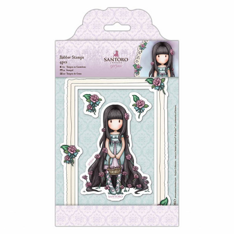 Gorjuss Stamp Set: Rosie