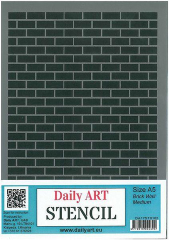 Brick Wall Medium A5 -sabluuna