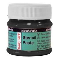 Stencil Paste: Black 25ml