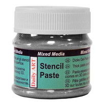 Stencil Paste: Pearl Black 25ml