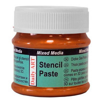Stencil Paste: Copper 25ml