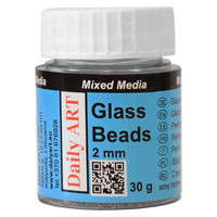 Glass Beads 2mm 30g