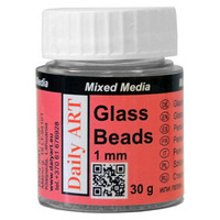Glass Beads 1mm 30g