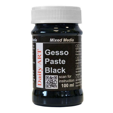 Gesso Paste Black 100ml