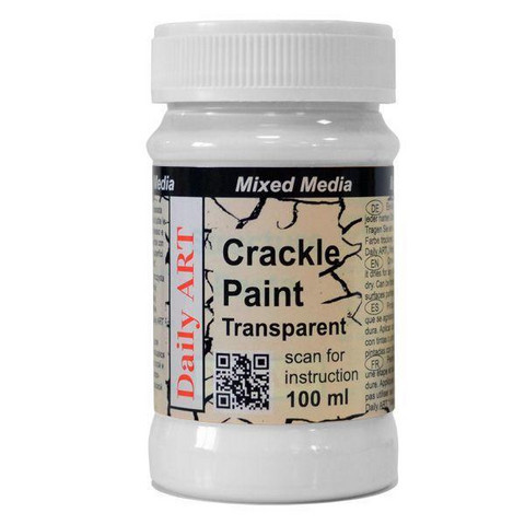 Crackle Paint Transparent 100 ml