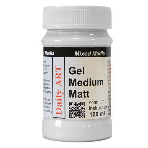 Gel Medium Matt 100 ml