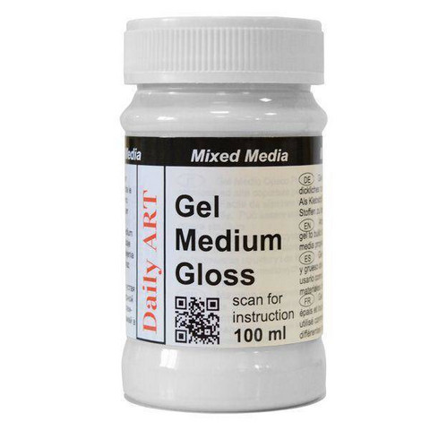 Gel Medium Gloss 100 ml