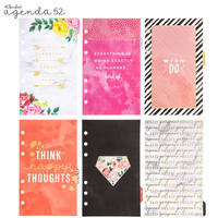 Happy Thoughts Foiled & Tabbed Personal Planner Dividers
