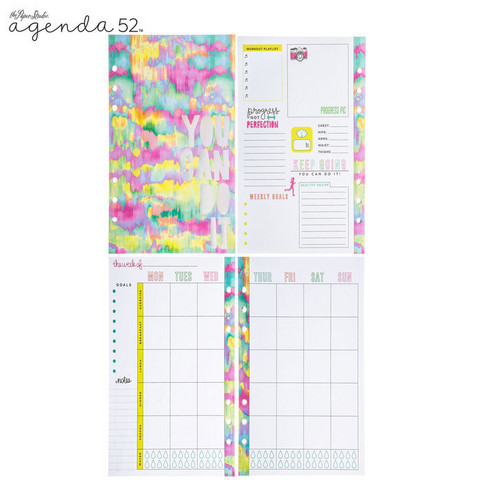 Agenda 52: Fit & Fab Lifestyle Personal Inserts