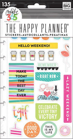 Planner Stickers: TGIF
