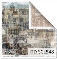I Love Madrid 12x12 - skräppipaperi