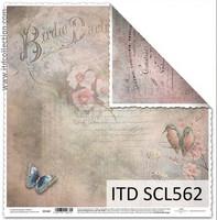 Birdie Darling 12x12 - skräppipaperi