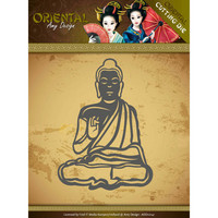 Oriental: Meditating Bhuddist  -stanssi