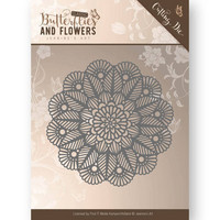 Butterflies & Flowers: Doily -stanssi