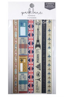 Park Lane Paperie Washi Stickers: Travel Borders