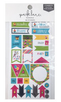 Park Lane Paperie Washi Stickers: Celebrate Tags