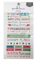 Park Lane Paperie Washi Stickers: Trend Quotes