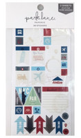 Park Lane Paperie Washi Stickers: Travel Tags