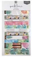 Park Lane Paperie Washi Stickers: Floral Quotes