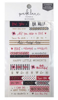 Park Lane Paperie Washi Stickers: Love Quotes