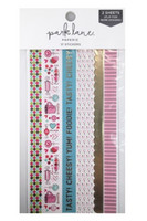 Park Lane Paperie Washi Stickers: Food Borders