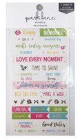 Park Lane Paperie Washi Stickers: Celebrate Quotes