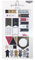Park Lane Paperie Washi Stickers: Love Tags