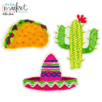 Flea Market Fancy Patch Stickers: Fiesta