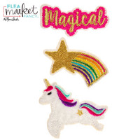 Flea Market Fancy Patch Stickers: Unicorn