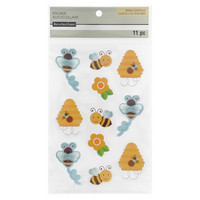 3D Stickers: Honeycomb & Bees  -tarrapakkaus