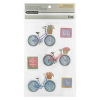 3D Stickers: Bicycle  -tarrapakkaus