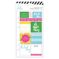 Heidi Swapp - Fresh Start : Playful Cardstock Stickers -tarrakirja