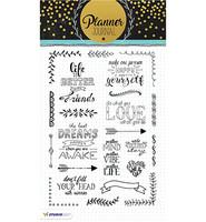 Planner Journal Stamps #3 - kirkas A5 leimasinsetti