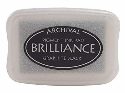 Brilliance: Graphite Black  - mustetyyny