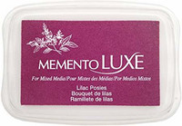 Memento Luxe: Lilac Posies -mustetyyny