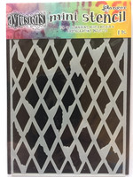 Dylusions Mini Stencil: Diamond in the Rough