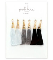 Park Lane Paperie Tassels : Neutral