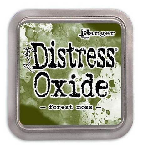 Distress Ink Oxide: Forest Moss  -mustetyyny