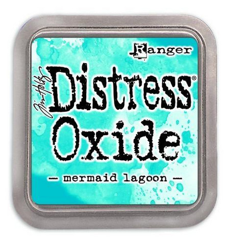 Distress Ink Oxide: Mermaid Lagoon  -mustetyyny