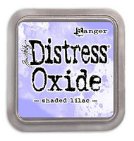 Distress Ink Oxide: Shaded Lilac  -mustetyyny