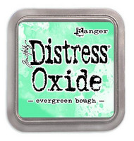 Distress Ink Oxide: Evergreen Bough  -mustetyyny