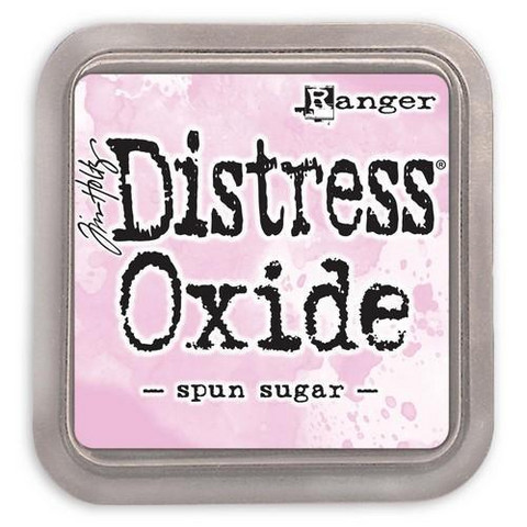 Distress Ink Oxide: Spun Sugar  -mustetyyny