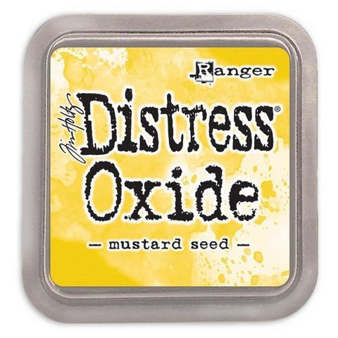 Distress Ink Oxide: Mustard Seed  -mustetyyny