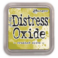 Distress Ink Oxide: Crushed Olive  -mustetyyny