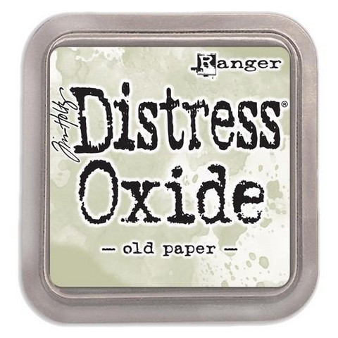 Distress Ink Oxide: Old Paper  -mustetyyny