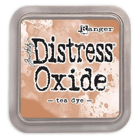 Distress Ink Oxide: Tea Dye  -mustetyyny