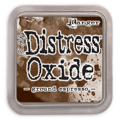 Distress Ink Oxide: Ground Espresso  -mustetyyny