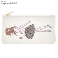 Fashionista Canvas Pouch