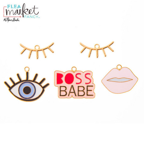 Flea Market Fancy Charms: Boss Babe